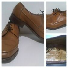 Loake Leather Shoes - Thrapston - UK Size 7.5 E - slim-fit - lace-up - Brown