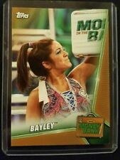 2019 Topps WWE Bayley Money in the Bank Bronze Paralell
