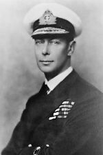 King George Vi Great Britain Wwii Portrait 8x12 Silver Halide Photo Print