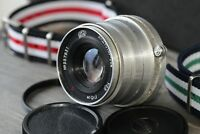 """INDUSTAR 26M Soviet Lens Red """"P"""" 2.8/52 mm Leica M39++adapter M39