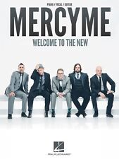 MercyMe Welcome to the New Sheet Music Piano Vocal Guitar SongBook NEW 000128518