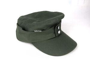 Replica WWII Army German Heer EM HBT M43 Field Summer Soldier Cap hat Green 60cm