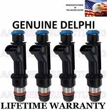 Genuine Delphi Set Of 4 Fuel Injectors for Chevy Cavalier Pontiac Sunfire 2.2L