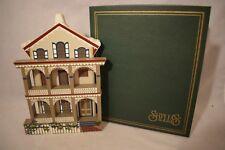 Shelia'S 1993 Stockton Place Row House Cape May Shelf Sitter Lad18 Nib (e818)