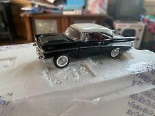 Chevy 57 BelAir Black Car- B11WM05 1/43 Scale Franklin Mint