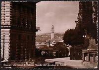 AD1882 Firenze - Città - La Torre di Palazzo Vecchio dal Giardino di Boboli
