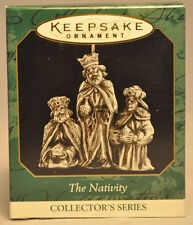 Hallmark: The Nativity - 3 Kings - Series 2nd - Miniature Ornament