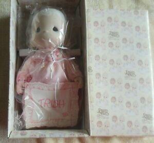 1984 Precious Moments Porcelain Doll TRISH Open Edition
