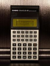 Calculatrice calculator CASIO FX-80 80's