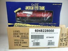 American Flyer 6-48228 Nasg 2002 Cook Paint & Varnish Tank Car New w/Shpr