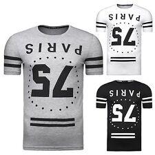 Figurbetonte Herren-T-Shirts aus Baumwolle