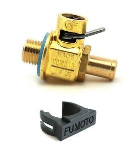 Fumoto F106N Quick Oil Drain Valve M14-1.5 Threads with Nipple & LC10 Clip