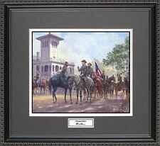 Mort Kunstler UNCONQUERED SPIRIT Framed Print Civil War Wall Art Gift