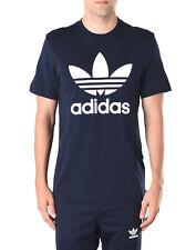 ADIDAS ORIGINALS T-Shirt Top Size XL Coated Logo Short Sleeve Crew Neck