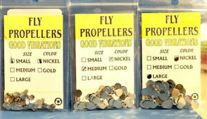 Fly Propellers WAPSI USA small medium large 24 Stück SILBER Good Vibrations