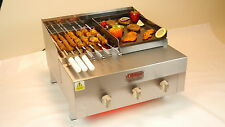 Char Grill + BBQ Grill + Parrilla de Carbón Parrilla De Contacto + + Chargrill Hecho en Reino Unido!!!