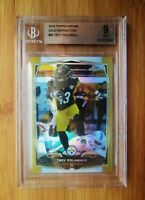 2014 Topps Chrome GOLD Refractor /50 TROY POLAMALU - BGS 9 MINT