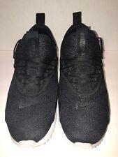 Nike Air Max 90 EZ Black/Black-White Men's Running Shoes AO1745-001 Pre-owned