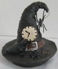 Yankee Candle Halloween Spellbound Witch's Witches Hat Spider Jar Topper NEW