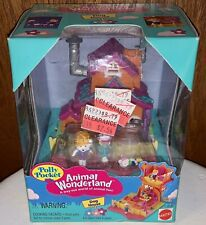 Vintage Mattel Bluebird Polly Pocket Animal Wonderland Dog House NEW NIP 13859
