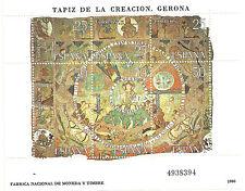 HOJITA TAPIZ DE LA CREACIÓN. GERONA. 1980