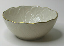Lenox Sylvan Bowl Hand Decorated With 24k Gold