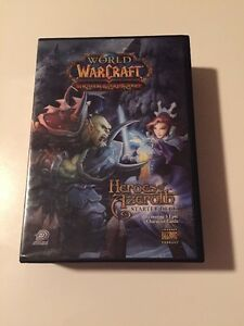 OPEN World Of Warcraft Trading Card Game Heroes Of Azeroth Starter Deck Blizzard