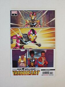 Ironheart #2 | 2nd Print | NM+ | Vecchio Variant | Solid Black Back Cover