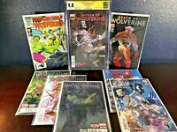 8 WOLVERINE KEY Return of Wolverine 1 CGC 9.8 ss Death of 1 2 3 4 Hulk 181 Reprt
