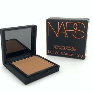 """NARS Bronzing Powder 1.2g Mini - Shade """"Laguna"""" - New & Boxed - Free P&P"""