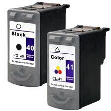 2PK NON-OEM ink for Canon PG-40 CL-41 MP140 MP150 MP160 IP2600 JX200 MX300 MX310