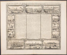 Chatelain - Northern Africa Coast Cities - 1718 Atlas Historique Engraving