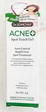 Dr.SOMCHAI ACNE Spot Touch Gel Reduces Inflammation Anti-Acne System Solution 4g