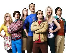 """The Big Bang Theory"" Cast From Cbs Tv Sitcom - 8X10 Publicity Photo (Cp003)"