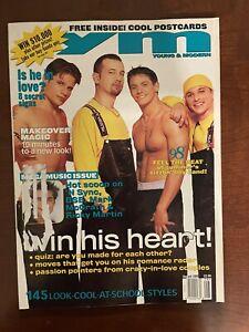 98 DEGREES Ym Aug 1999 MAGAZINE  NICK LACHEY DREW JEFF TIMMONS JUSTIN Jeffree