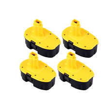 4x Extended 2000mAh 18 Volt 18V Battery For DeWalt Cordless Drill Power Tool