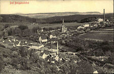 Bad Berggießhübel Sachsen Sächsische Schweiz 1913 Panorama mit Kirche ungelaufen