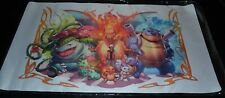 Charizard Blastoise Venusaur Playmat Pokemon TCG Trading Card Game Play Mat Matt
