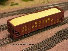 Hay Brothers WOODCHIPS LOAD - Fits Micro-Trains 100T Hopper Cars