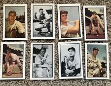 1953 BOWMAN COLOR & BLACK & WHITE REPRINT DETROIT TIGERS TEAM SET