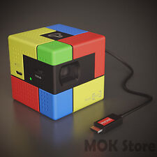 SK Smart Beam Art Mini Pico Laser Projector DLP LED For Smartphone + Free Tripod