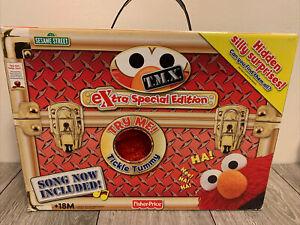 Fisher-Price Tickle Me Elmo TMX Extra Special Edition w/ Original Box