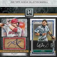 2020 Topps Museum Collection Baseball RANDOM TEAM (1) Box LIVE Break #001