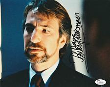 Alan Rickman Signed 8x10 Die Hard Photo Autograph Auto JSA COA LOA Z17899