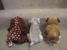 Webkinz- WITH CODES!!!! Schnauzer, Bulldog, Spotted Spaniel