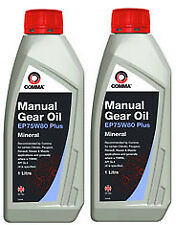 2X COMMA - EP75W801L -  EP75W80 Gear Oil 1 Litre -  PSA B71 2330