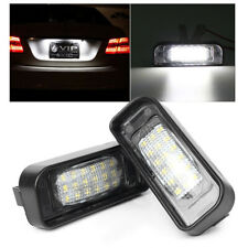 18LED Number License Plate Light for Mercedes Benz W220 S320 S500 S430 1999-2005