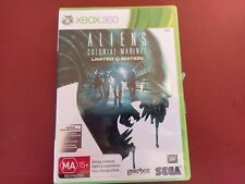 ALIENS COLONIAL MARINES - Xbox 360 Game Complete - FREE POSTAGE