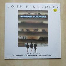 JOHN PAUL JONES Scream For Help German 1st press vinyl LP MINT Jimmy Page