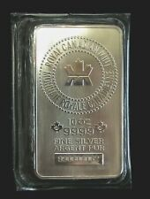 10 oz. RCM Silver Bar - Royal Canadian Mint .9999 Fine